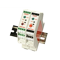 Amplificatore per Trasduttori LVDT su guida DIN